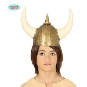 Viking Helm Ossen Hoorns
