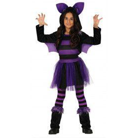 Halloween Vleermuis Duistere Nachten Meisje Kostuum