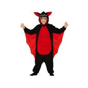 Bloeddorstige Vleermuis Scherpe Tandjes Kind Kostuum