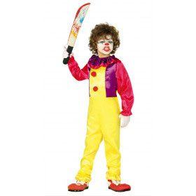 Clown Lach Aan De Kont Jongen Kostuum