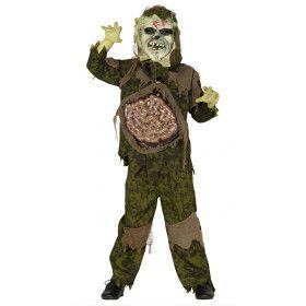 Bermbom Soldaat Zombie Jongen Kostuum