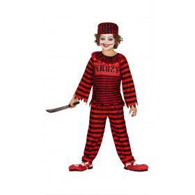 Grote Ontsnap Gevangenis Boef Kind Kostuum