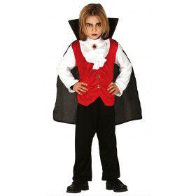 Keurige Aristocratische Bloedzuiger Vampier Jongen Kostuum