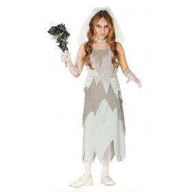 Bruid Vijfde Huwelijk Zombie Meisje Kostuum