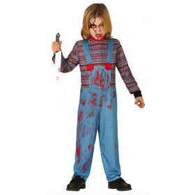 Door Geesten Bezeten Chucky Kind Kind Kostuum