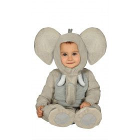 Kleine Dikhuid Olifant Jongen Kostuum