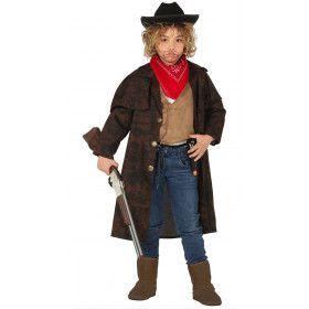 Stoere Lange Premiejager Cowboy Jas Jongen