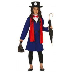 Deftige Dame Engeland Meisje Kostuum