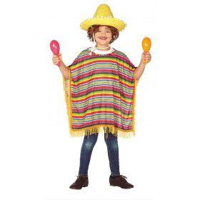Mexicaanse Poncho Guadelajara Kind