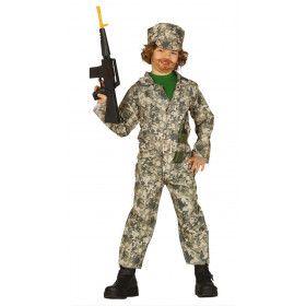 Perfect Gecamoufleerde Special Ops Soldaat Jongen Kostuum