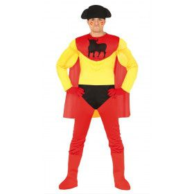 Spaanse Superheld Capitano Torro Man Kostuum