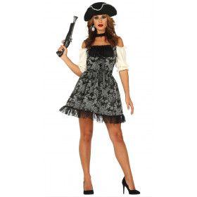 Succesvolle Rijke Victoriaanse Pirate Vrouw Kostuum