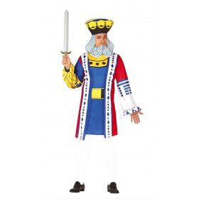 Levende Speelkaart Heer Man Kostuum