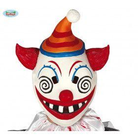 Latex Masker Hysterisch Vrolijke Clown