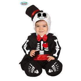 Skelet In Jacquet Kind Kostuum
