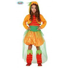Prachtige Pompoen Halloween Meisje Kostuum