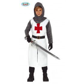 Tempelier Ridder Wrede Middeleeuwen Jongen Kostuum