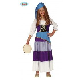 Roma Zigeunerin Rinkelende Muntjes Meisje Kostuum