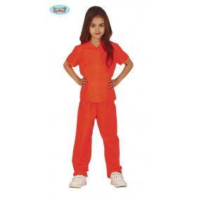 Oranje Gevangenis Guantanamo Kind Kostuum