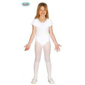 Witte Body Ballerina Dansvoorstelling Meisje Kostuum