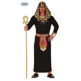 Osiris Egyptisce Farao Oppernijl Man Kostuum