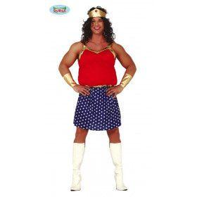 Super Verwarde Superheld Man Kostuum