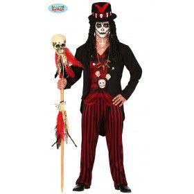 Voodoo Sjamaan Goeroe Man Kostuum