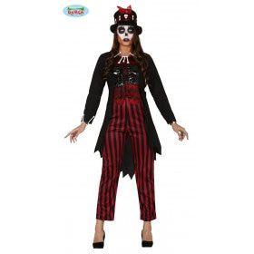 Voodoo Winti Day Of The Dead Priesteres Vrouw Kostuum