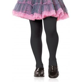 Meisjes Opaque Panty Zwart