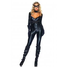Catgirl Superheld Sexy Kostuum Vrouw