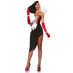 Ms Cruella Sexy Diva Jurk Vrouw