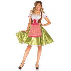 Frau Greta Duitse Dirndl Vrouw Kostuum