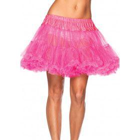 Basic Petticoat Met Twee Lagen Roze