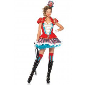 Sexy Circusdame Vrouw Kostuum