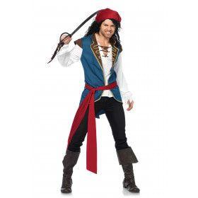 Schreeuwende Piraat Man Kostuum