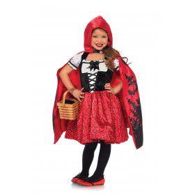 Prachtig Rood Kapje Meisje Kostuum