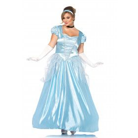 Adembenemende Assepoester Vrouw Kostuum