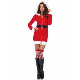 Lekker Warm Kerstvrouw Kostuum