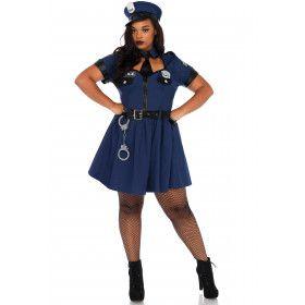 Boeiende Agent Plus Size Vrouw Kostuum