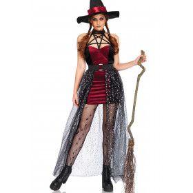 Magische Maggie Toverheks Vrouw Kostuum