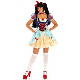 Luxe Lolita Sneeuwwitje Vrouw Kostuum