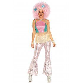 80s Disco Zeemeermin Vrouw Kostuum