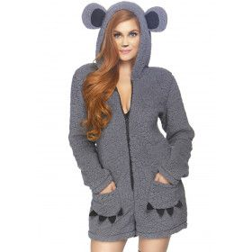 Heel Zachte Aaibare Koala Australie Vrouw Kostuum