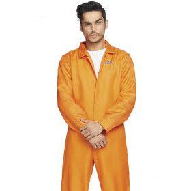 Wachten Op De Elektrische Stoel Gevangenis USA Man Kostuum