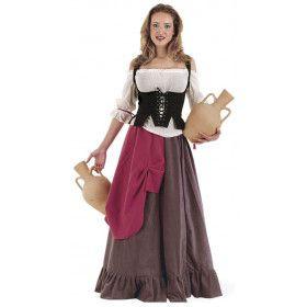 Middeleeuwse Waardin Herberg Het Hoekje Vrouw Kostuum