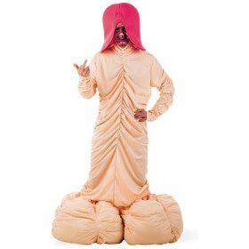 Reusachtige Razende Roede Man Kostuum