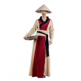 Rijke Plattelands Chinees Hoisin Vrouw Kostuum