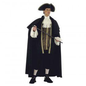 Venetiaanse Doge Heerser Over De Lagune Man Kostuum