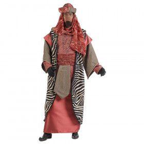Koning Balthasar Driekoningen Kerstmis Man Kostuum