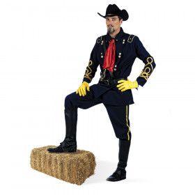 Amerikaanse Burgeroorlog Unie Generaal Man Kostuum